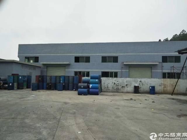陈江镇工业区独院单一层钢构厂房1800平方滴水8米招租