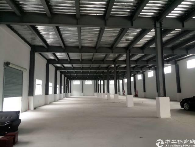 镇隆原房东独栋钢构厂房出租3380平米