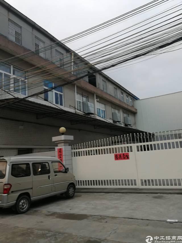凤岗镇油甘埔新出独门独院带办公室原房东钢构3楼800平