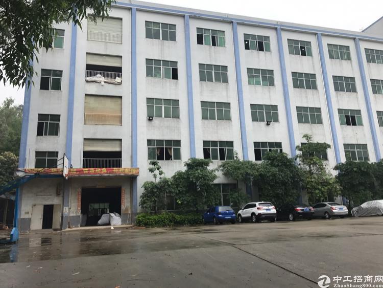 横岗228工业区一楼厂房1850平米厂房招租 大小可分租
