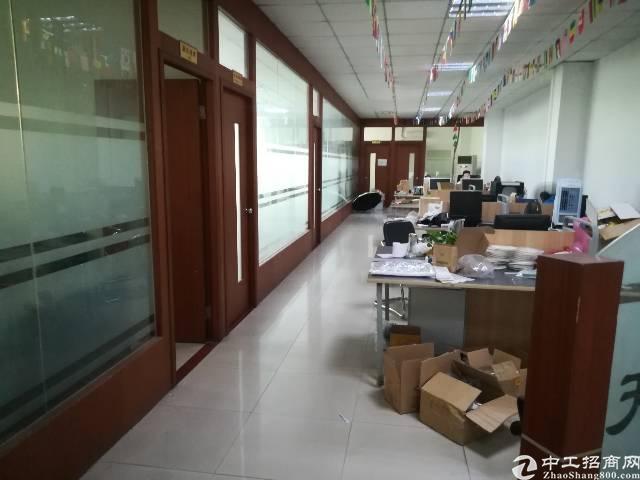 福永桥头地铁站旁楼上600平精装修办公贸易厂房出租-图3