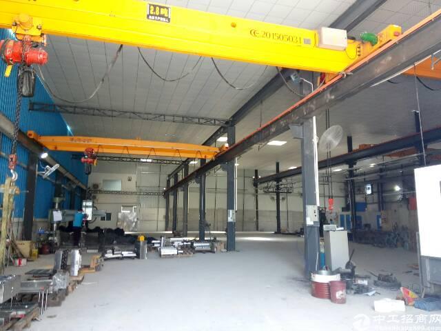 石排新出非常实用的钢构厂房800方,空地500。