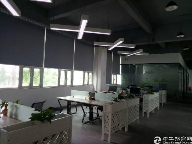 龙岗坪地精装修写字楼出租1800平一整层