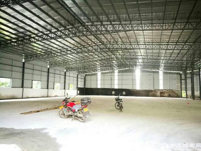 万江新出原房东独院厂房,砖墙到顶单一层车间2200平方,滴水