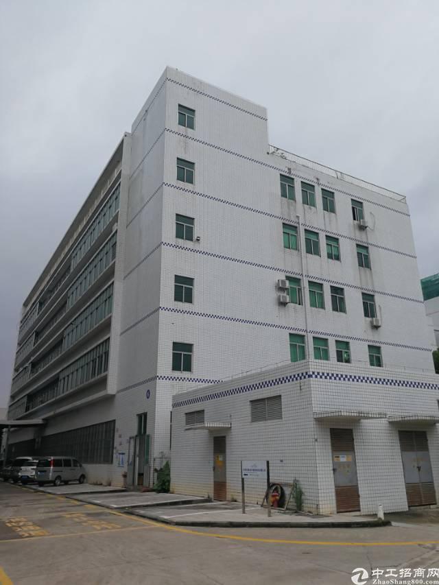 龙岗宝龙高新技术园区新出红本厂房整层4000平招租