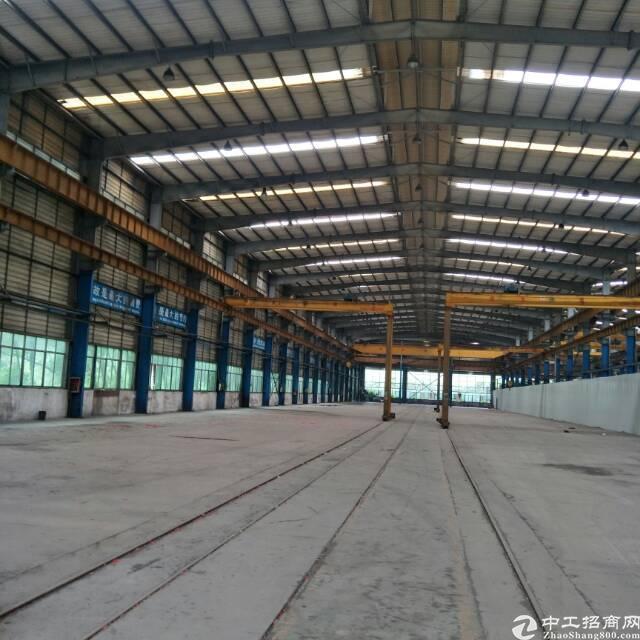 企石17元13米滴水高钢构厂房出租6800平方(带行车)