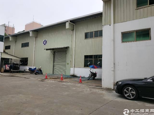 东莞市象山工业区钢构滴水八米900平出租