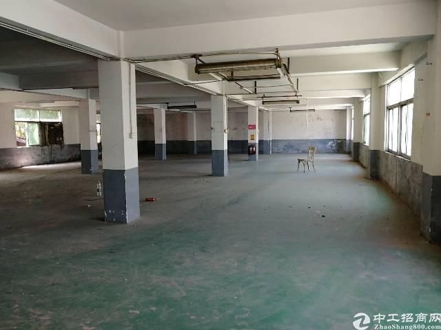 公明镇松白路边独栋2层1000平米厂房出租