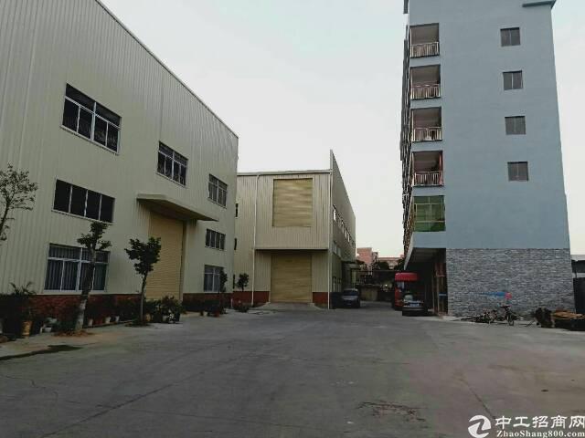 大岭山杨屋新出独门独院厂房12000平米,宿舍3000平米