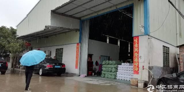 茶山原房东8米滴水单一层厂房1400平米出租