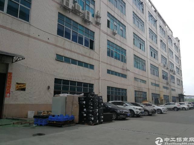 平湖辅城坳工业区新出2200平标准厂房(可分)