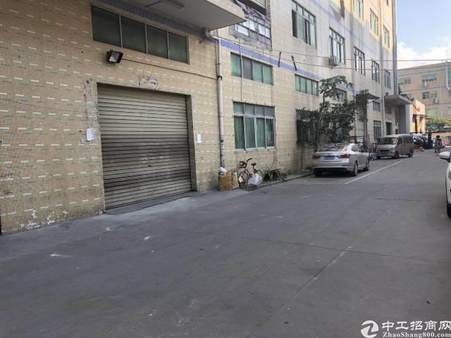 横岗永湖地铁站附近横坪公路边上一楼1300平米厂房招租-图3