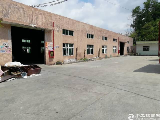 南山西丽1700平米钢构厂房出租