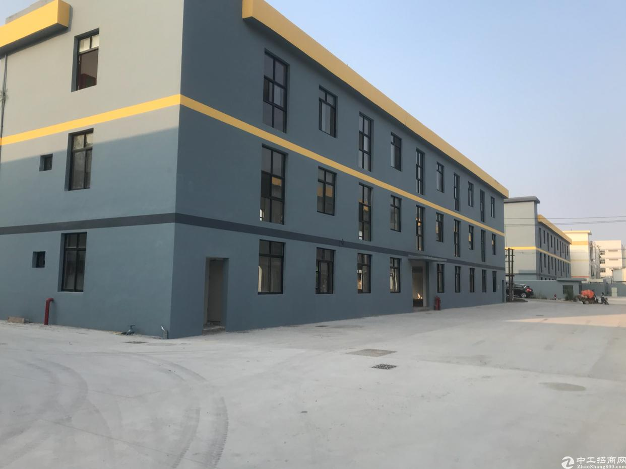 横岗新出独栋厂房出租2300平方米