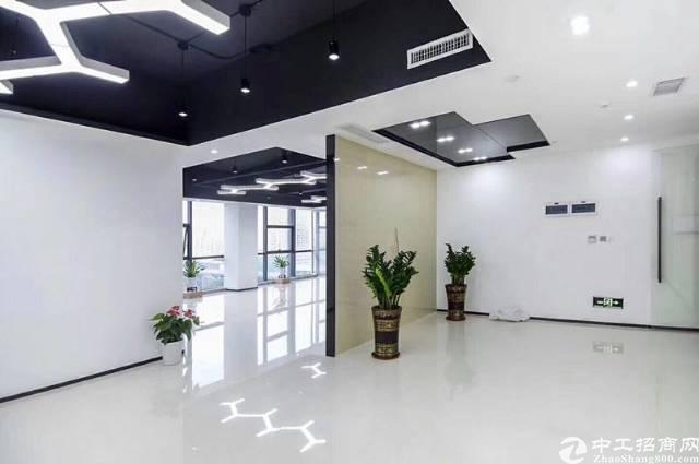 布吉木棉湾地铁站甲级写字楼348平方精装修出租!