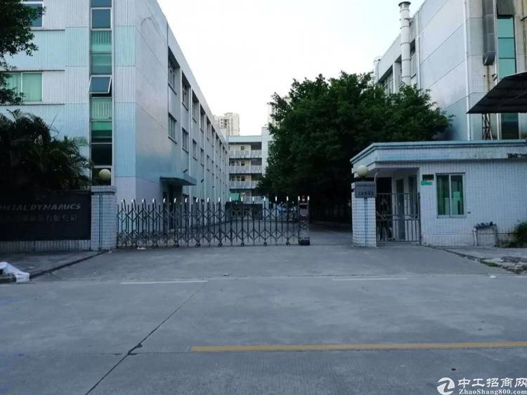 东莞横沥银宝山新旁独院厂房4000平方出租