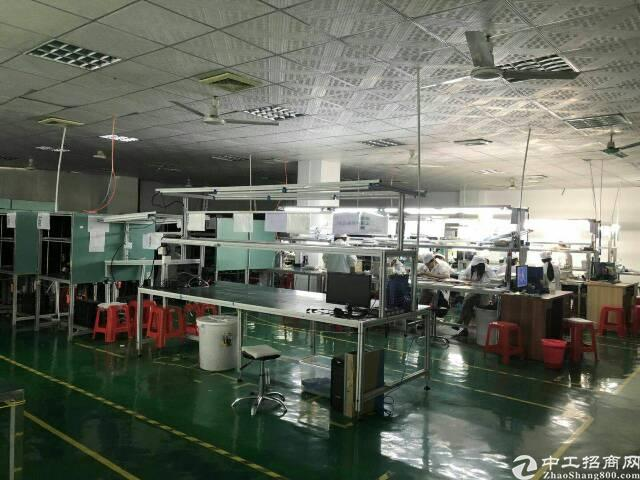大浪行政中心附近新出1000平带千级无尘车间厂房出租