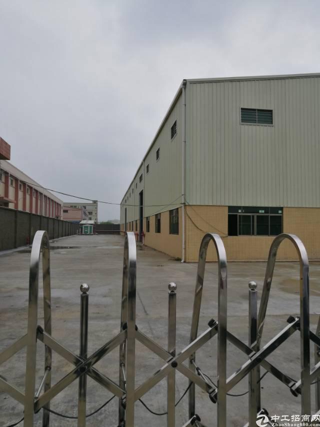 常平靠黄江新出独院单一层厂房5500平方