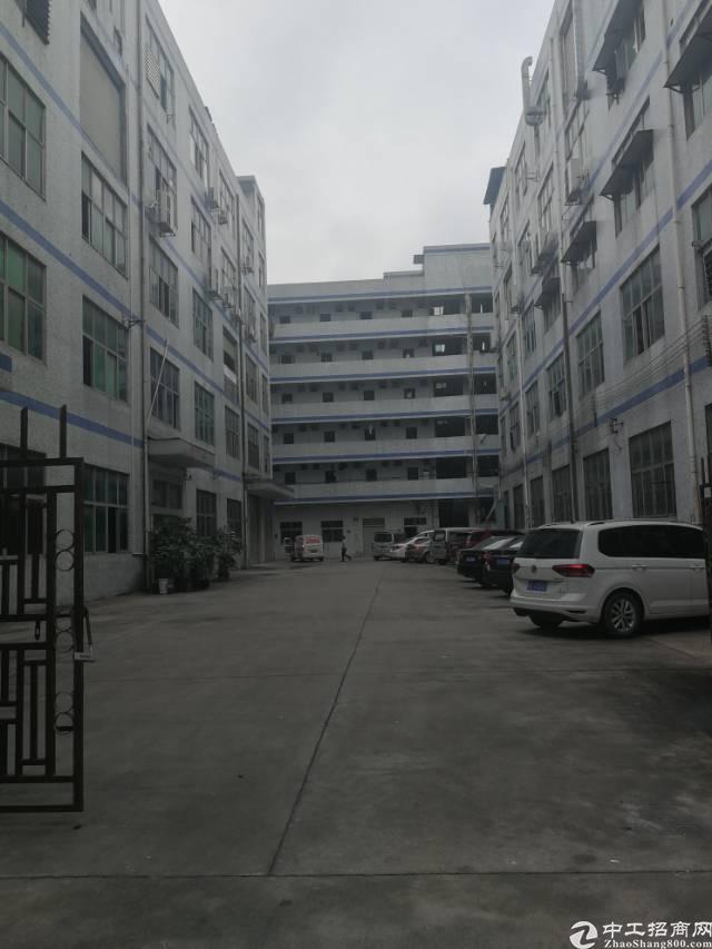 凤岗镇五联新出独门独院带办公室标准厂房2楼1300平