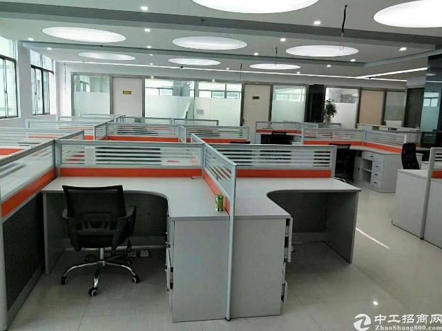 龙华大浪商业中心旁边490平标准厂房办公楼招租