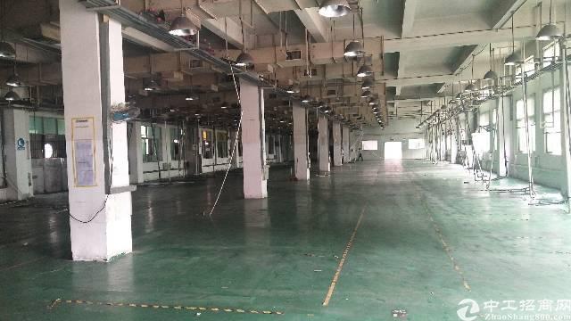 厚街新出六米高一楼厂房2700平方米招租