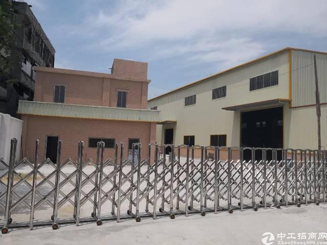 茶山镇全新钢构厂房2700平方出租带牛角