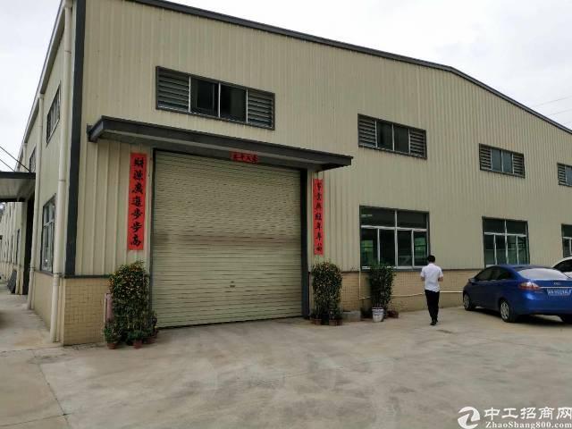 企石镇原房东独栋钢构厂房2200平方滴水10米