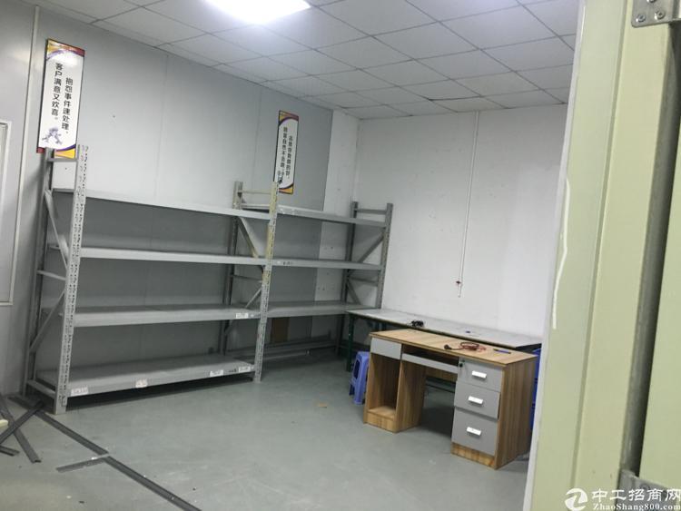 沙井西部新出400平米带前台装修厂房招租-图3