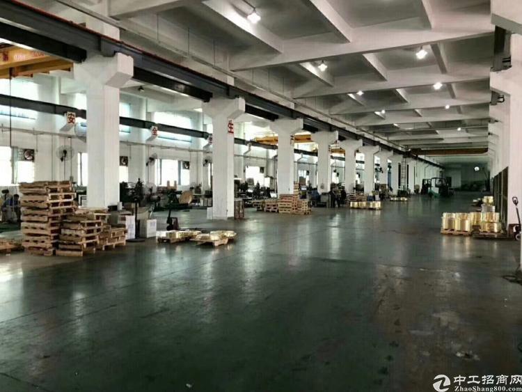松山湖标准独院厂房分租一二楼4600平方