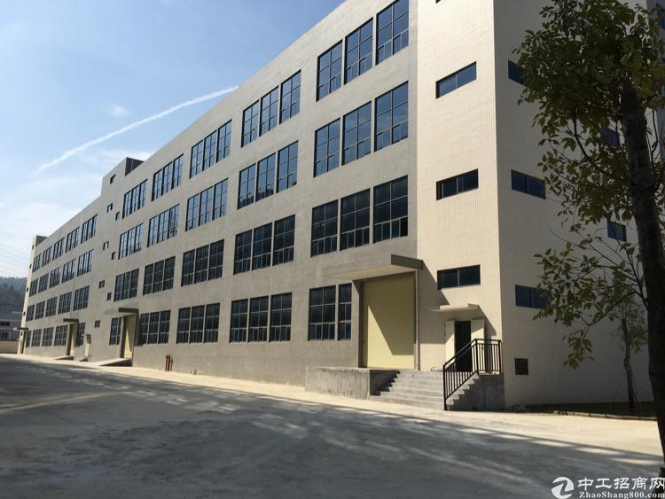 凤岗镇近平湖独栋标准厂房1-4层8720平方米带装修出租