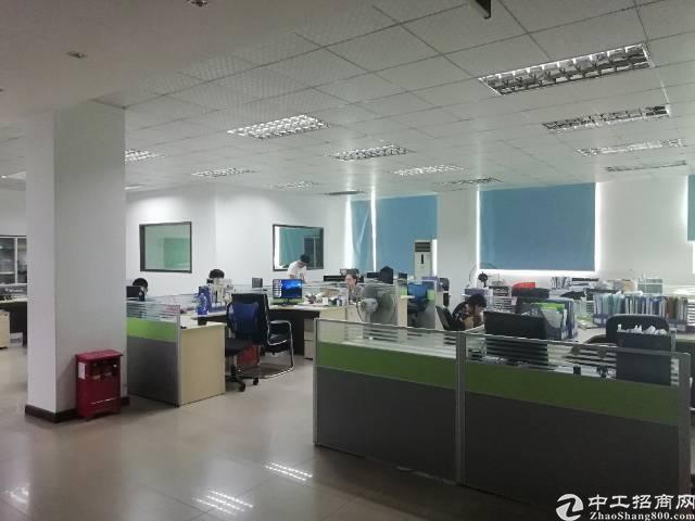 福永地铁口新出楼上1400平方豪华装修厂房