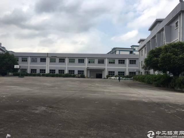 大朗镇独院原房东厂房招租总面积6800平方(可分租)