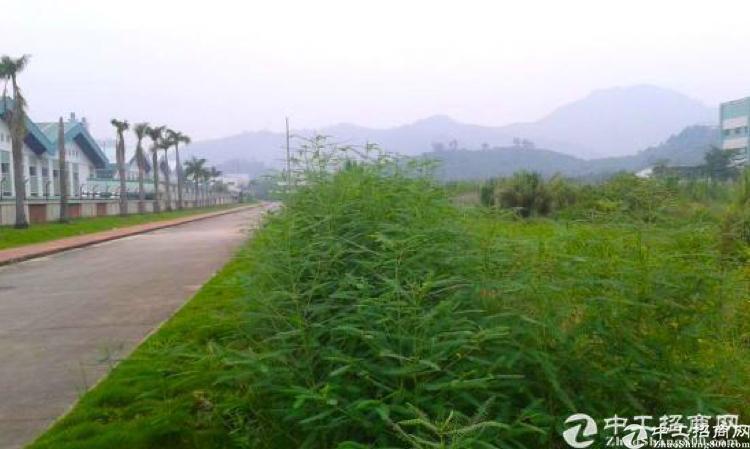 深圳周边千亩工业土地(可分割)红本50年