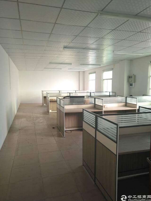 坪山4800平独院3层厂房有地坪漆有行吊有办公室