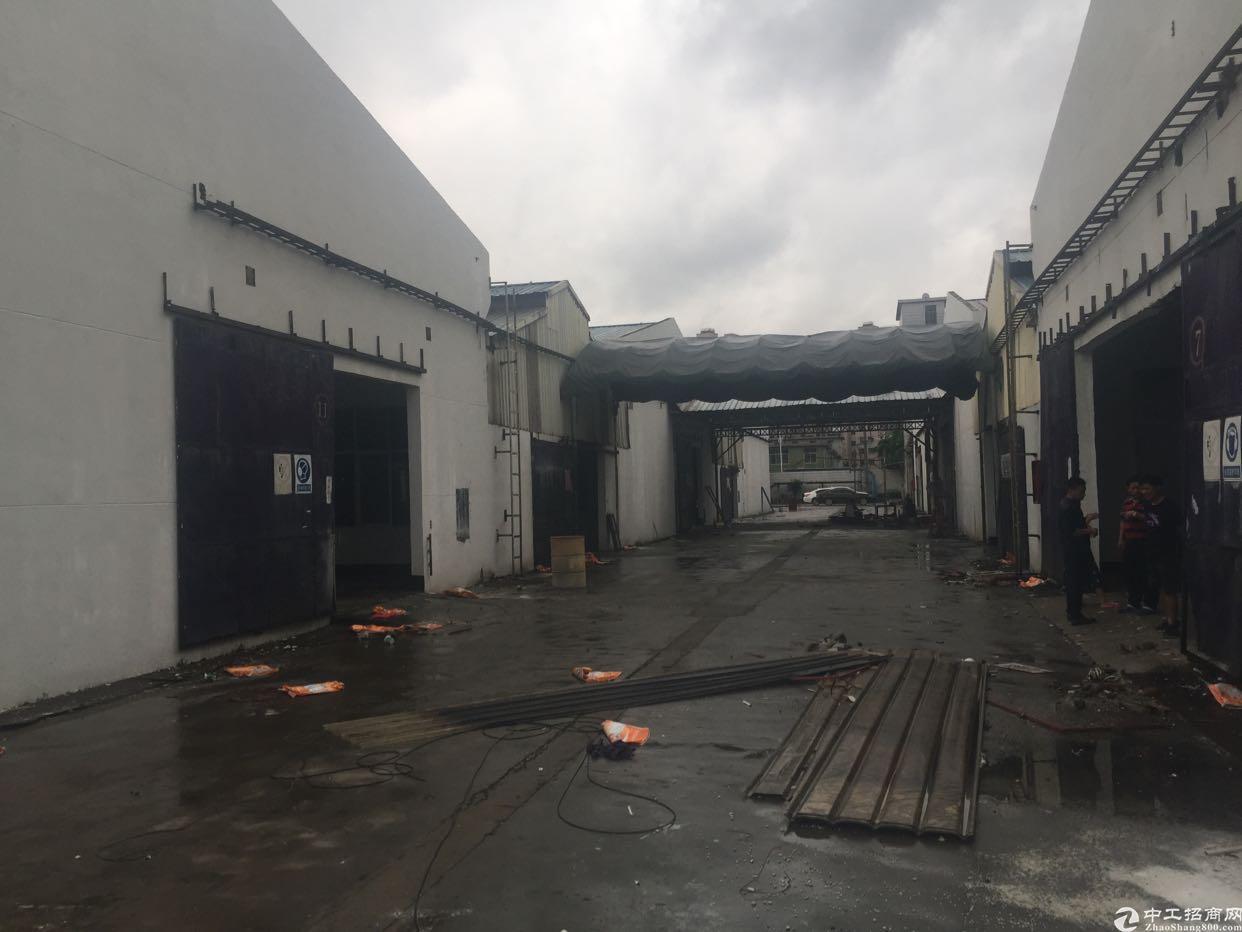 光明新区公明东坑新出滴水7米钢构空地超大钢构厂房出租