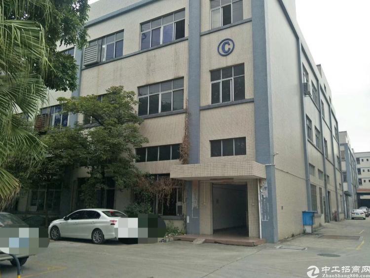 高埗新出独院标准厂房1~3楼4000平方,一楼高7米,形象好