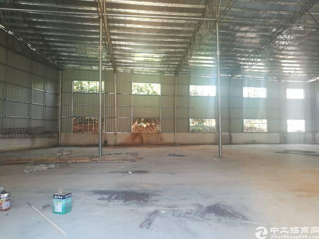 茶山厂房新出钢构厂房1400平