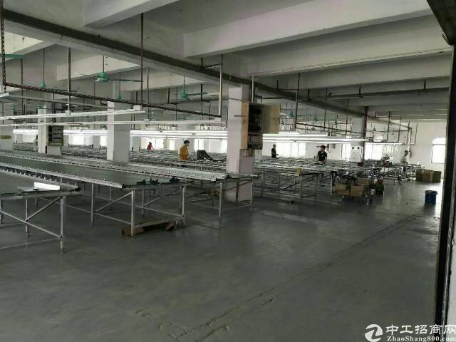 东坑新出原房东厂房三层7500、宿舍2000,无公摊