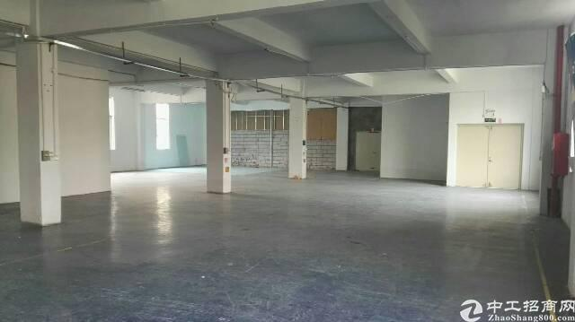 布吉南岭龙山工业区新出380平标准厂房出租