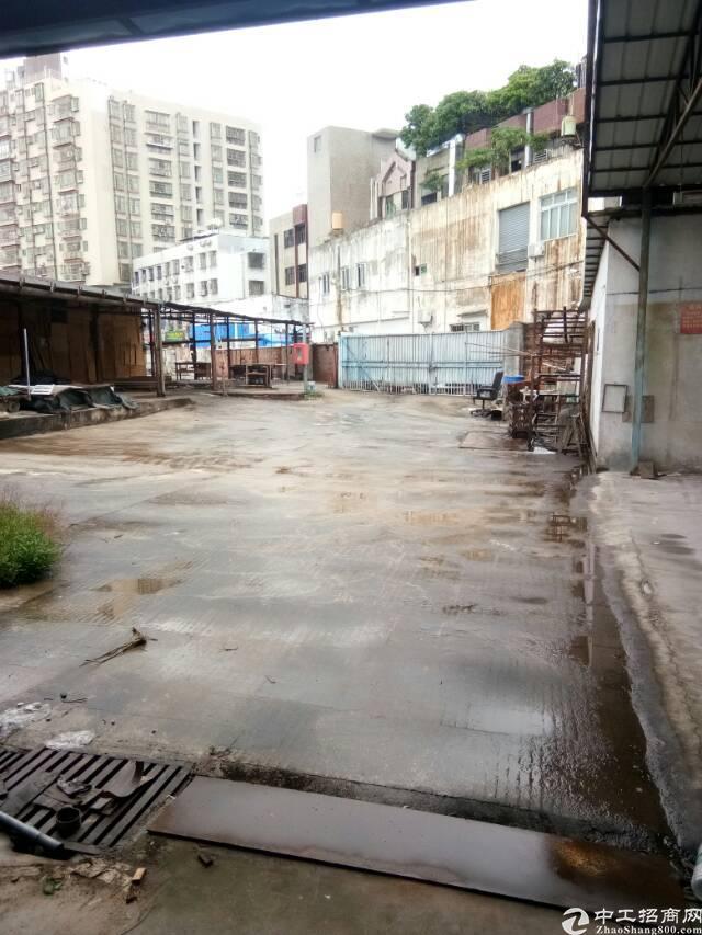 福永兴围独院2500平大空地钢构出租