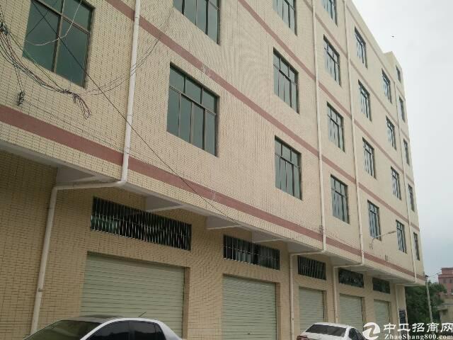 惠阳秋长标准厂房3100平米1-5层可分租