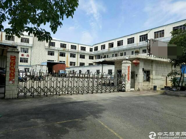 东江大道边上原房东8成新独院标准厂房带现成水电线路低价出租
