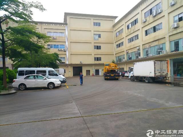 横岗深坑工业区三楼800平1260平厂房仓库出租