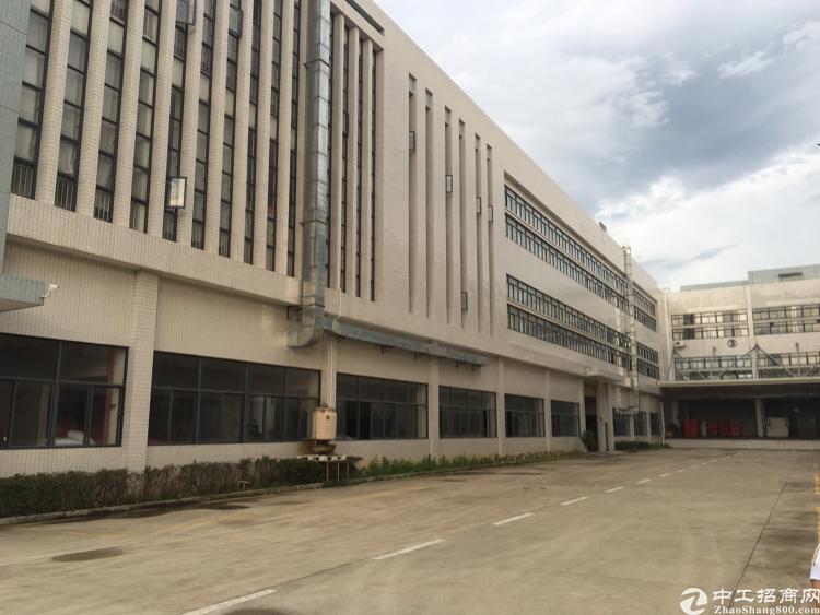 标准厂房1-3层12000平米原房东厂房招租