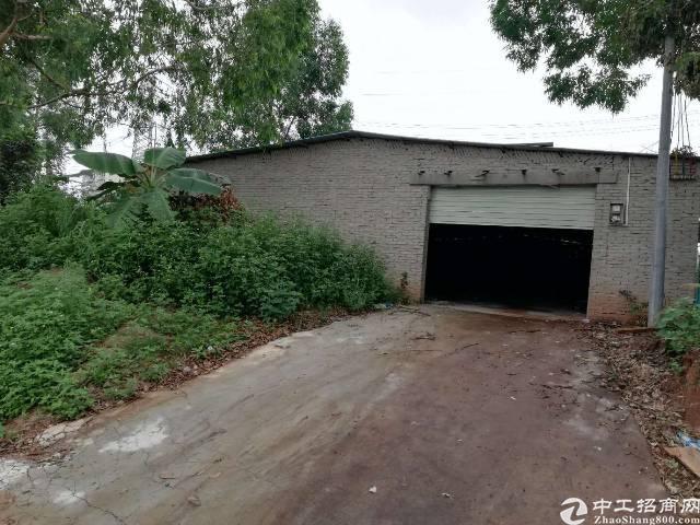惠州惠城区主干道旁独院980平钢构厂房出租!