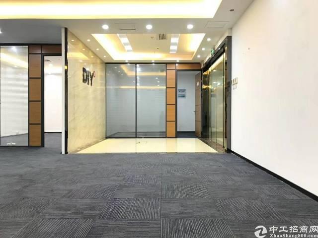 南山西丽300平精装朝南3+1格局办公室