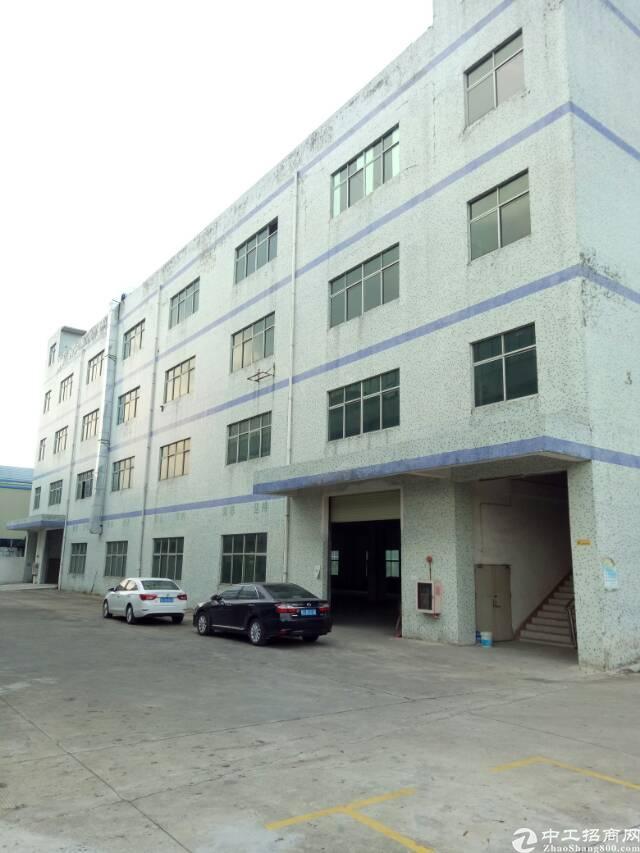 坪山区石井街道工业园分租一楼厂房1360平