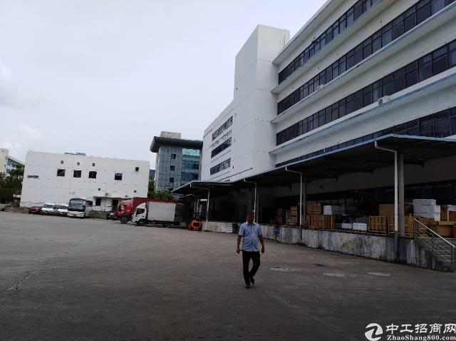 横岗(龙岗)宝龙工业城带红本卸货平台电商仓库12000平方米