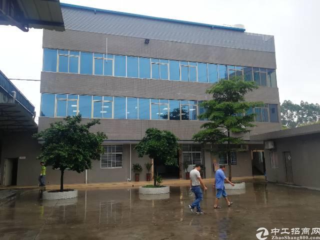 虎门北栅高速出口新出独院厂房3500平米原房东