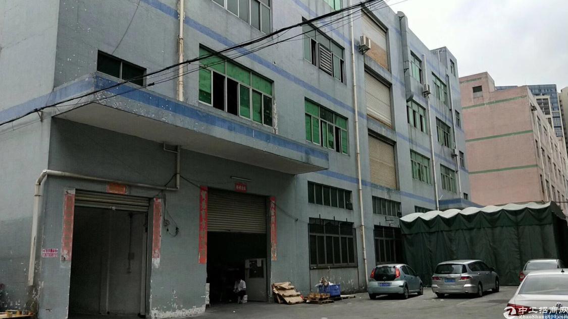 福永怀德大型工业区新出厂房二楼500平方米带装修免转让费出租